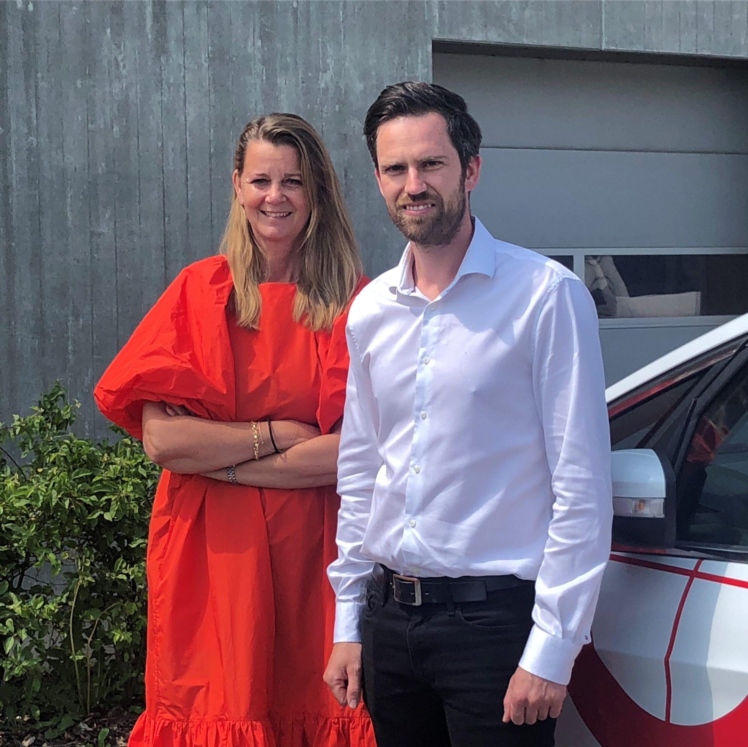 Andy Klarholt og Bente Damgaard Geopartner Landinspektører